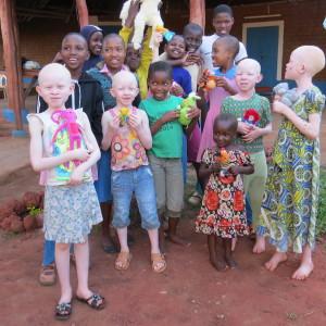 Mooie meisjes in Kenia
